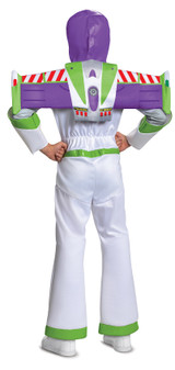 Buzz Lightyear Deluxe Child Costume back