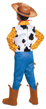 Woody Deluxe Child Costume back