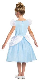 Cinderella Disney Girl Costume Classic back