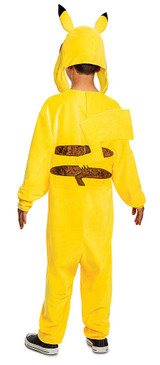Pikachu Deluxe Child Costume back