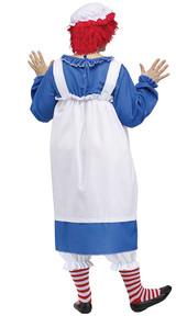 Raggedy Ann Woman Costume back