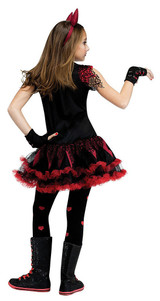 Devil Diva Girl Costume back