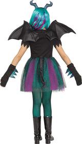 Dark Dragon Girl Costume back