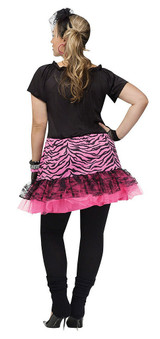 80's Pop Party Woman Costume back