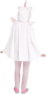 Unicorn Poncho Woman Costume back