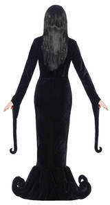 Morticia Addams Duchess of the Manor Woman Costume back
