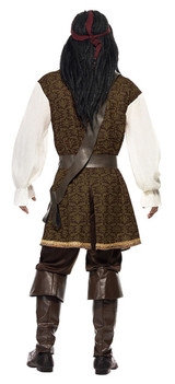 High Seas Pirate Man Costume back