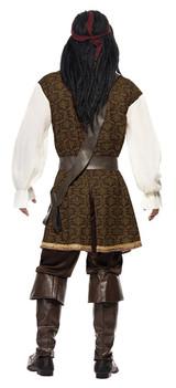 High Seas Pirate Man Costume back