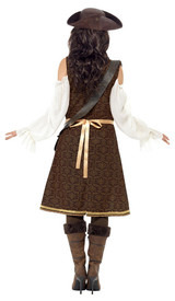 High Seas Pirate Wench Woman Costume back