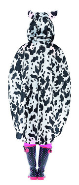 Cow Party Poncho Woman Costume back