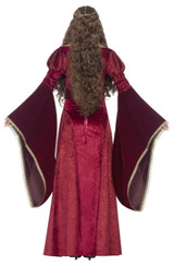 Deluxe Medieval Queen Cersei Woman Costume back
