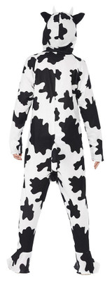 Cow Hooded Jumpsuit Girl Costume back