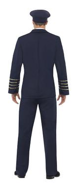 Classic Pilot Man Costume back