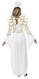 Angel Woman Costume back