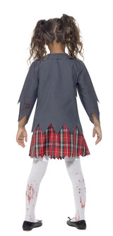 Zombie School Girl Costume back
