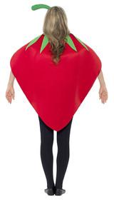 Strawberry Woman Costume back