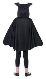 Bat Cape Girl Costume back