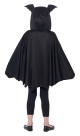 Bat Cape Girl Costume back