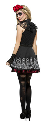Day of the Dead Woman Costume back