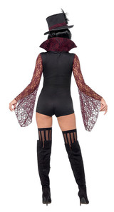 Vampire Woman Costume back