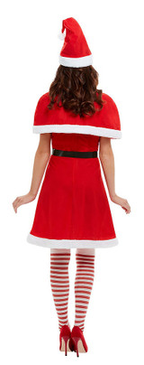 Miss Santa Woman Costume back
