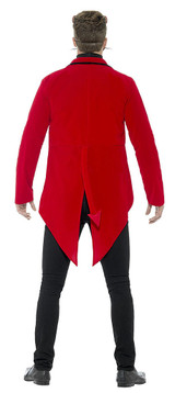 Day of the Dead Devil Man Costume back