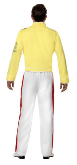 Queen Freddie Mercury Man Costume back