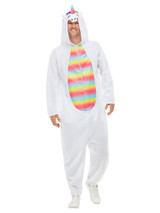 Unicorn Hooded Men Jumpsuit
