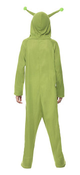 Alien Jumpsuit Boy Costume back