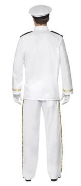 Deluxe Captain Man Costume back