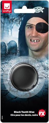 Smiffys Make-Up FX Tooth Wax Black