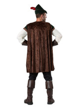 Robin Hood Adult Costume back