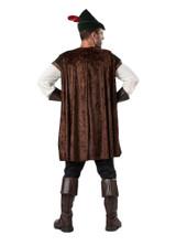 Robin Hood Adult Costume back