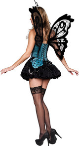 Beautiful Butterfly Adult Costume back