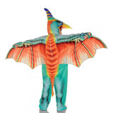 Light Blue Pterodactyl Costume back