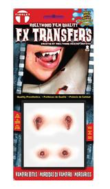 3D F/X Transfers Vampire Bites - Small