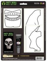 Party Skull White