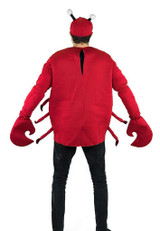 Crab Adult Foam Costume back