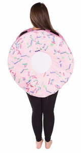 Donut Adult Foam Costume back