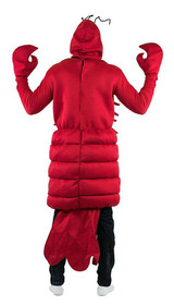 Lobster Adult Foam Costume back