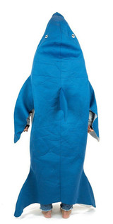 Shark Adult Foam Costume back