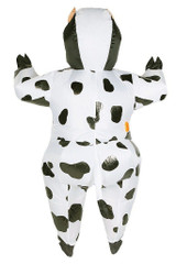 Cow Adult Inflatable Costume back