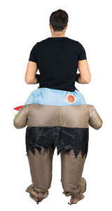 Scary Monster Adult Inflatable Costume back
