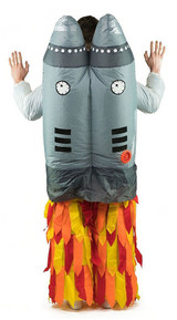 Jetpack Adult Inflatable Costume back