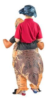 Premium Dinosaur Kid Inflatable Costume back