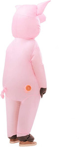 Pig Adult Inflatable Costume back