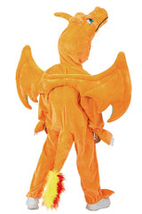 Pokemon Charizard Jumpsuit Boy Costume back