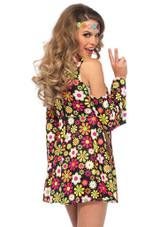 Starflower Hippie Woman Costume back