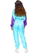 Totally Awesome 80s Ski Jumpsuit Woman Costume back
