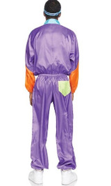 Totally Awesome 80s Ski Jumpsuit Man Costume